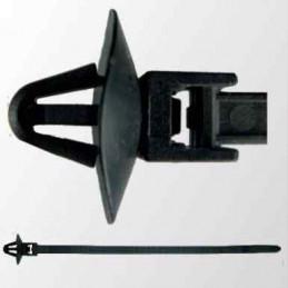 10 Clips cable universel Lanières monoblocs à pied ancre