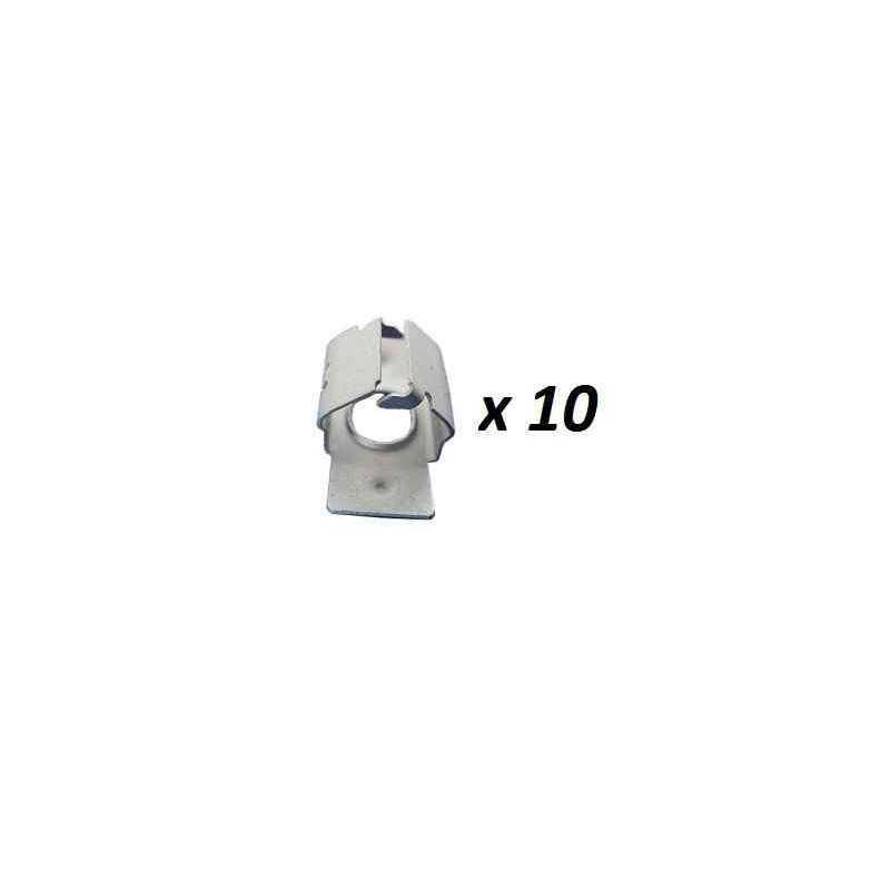 7030.18*10 10 fixation de cache sous moteur Citroen Peugeot 7,20 €