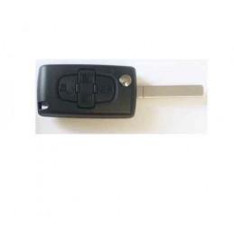 Coque de clé Citroen C8 Peugeot 807 et 1007