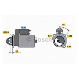 Demarreur Bosch 0 986 011 830 Echange standard