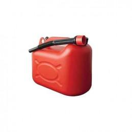 Jerrican plastique rouge Bidon 5 L