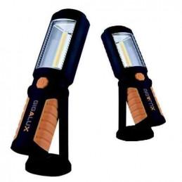 Lot de 2 baladeuses LED (15H d'autonomie / 1 LED 2w et 30H d'autonomie / 1 LED 3w )
