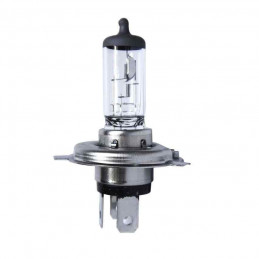 Ampoule code phare H4 60/55W 12V Blanc